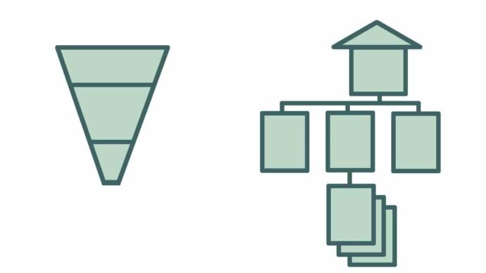 Diferencia funnel organigrama