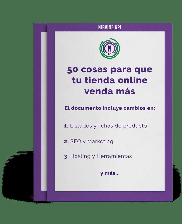 50 acciones para mejorar conversión en tiendas online