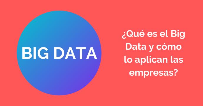 Descubre el Big Data y para qué se utiliza